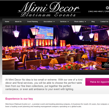 Mimi Decor wedding vendor preview