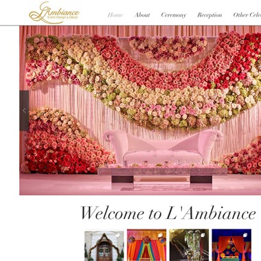 My Wedding Decorator wedding vendor preview