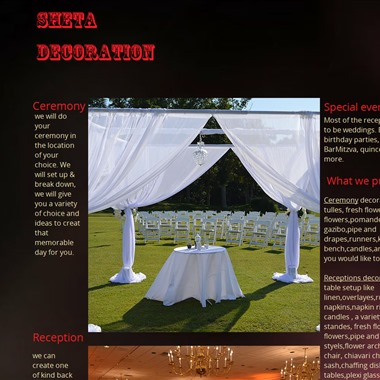 Sheta Decoration wedding vendor preview