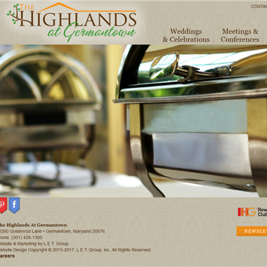 Highlands Germantown wedding vendor preview
