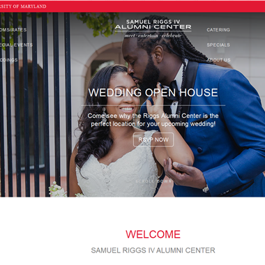 Samuel Riggs IV Alumni Center wedding vendor preview