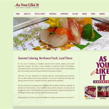 As You Like It Catering wedding vendor preview