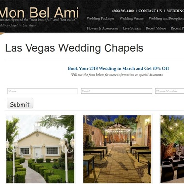 Mon Bel Ami Wedding Chapel wedding vendor preview