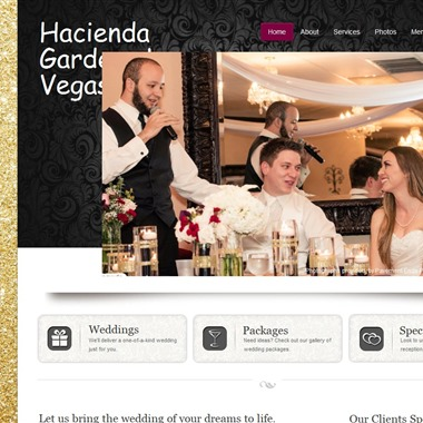 Hacienda Gardens Las Vegas wedding vendor preview
