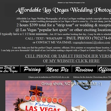 Las Vegas Pix wedding vendor preview