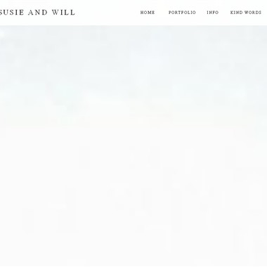 Susie and Will wedding vendor preview