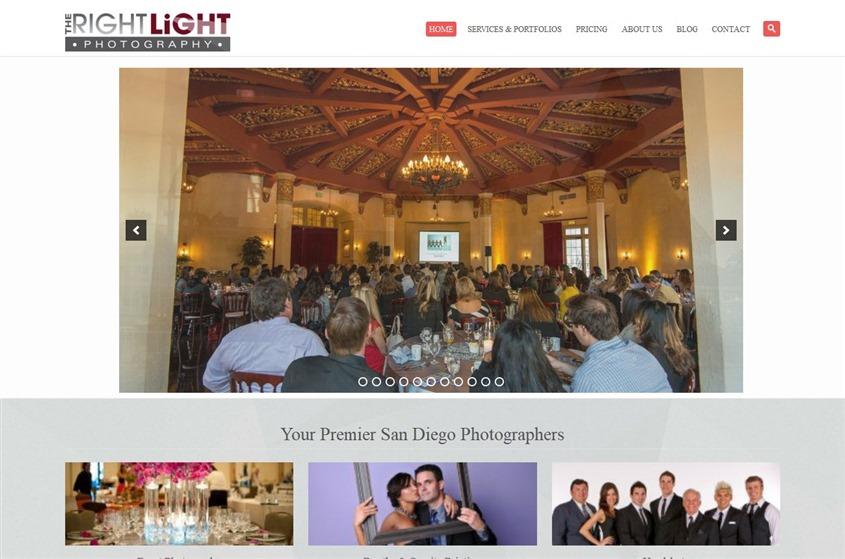 The Right Light Photography wedding vendor photo