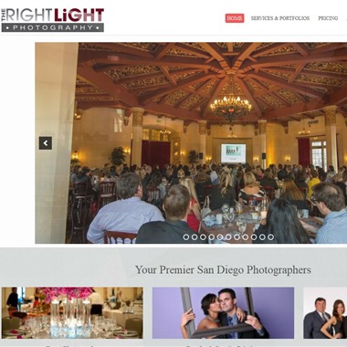 The Right Light Photography wedding vendor preview