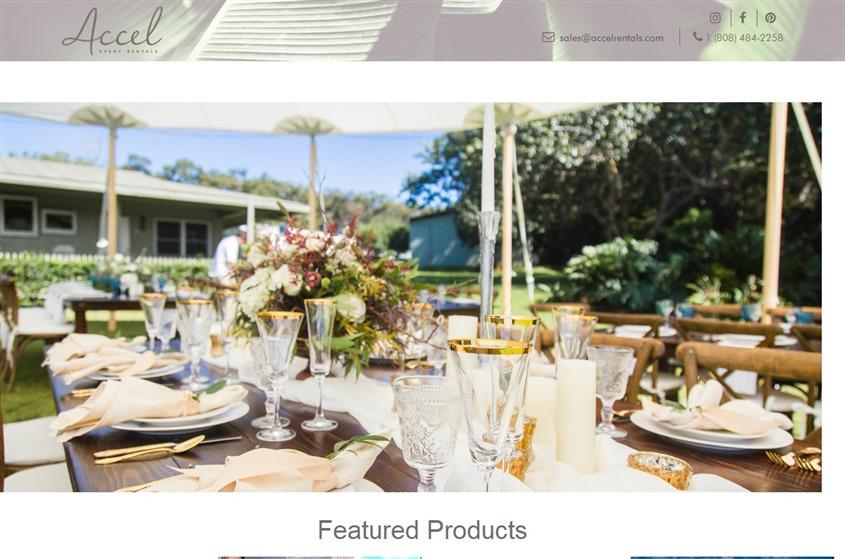 Accel Event Rentals wedding vendor photo
