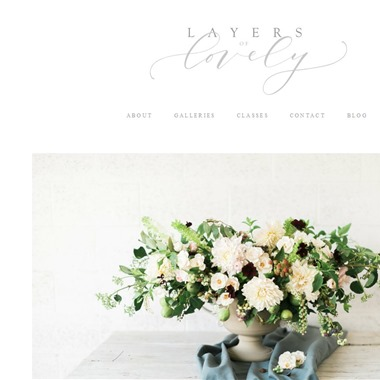 Layers of Lovely wedding vendor preview