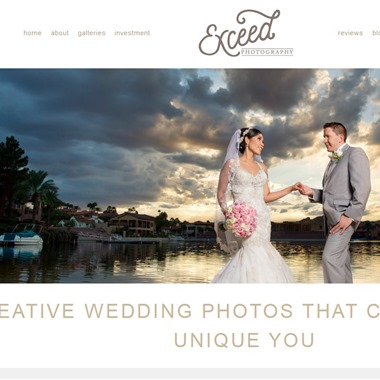 Exceed Photography wedding vendor preview