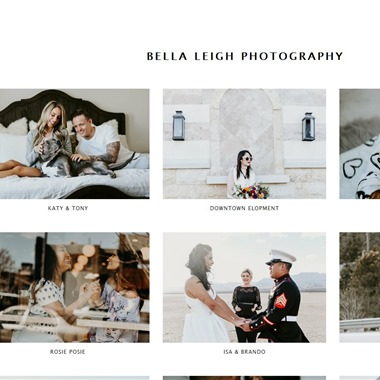 Bella Leigh Photography wedding vendor preview