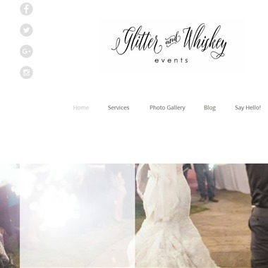 Glitter and Whiskey Events wedding vendor preview
