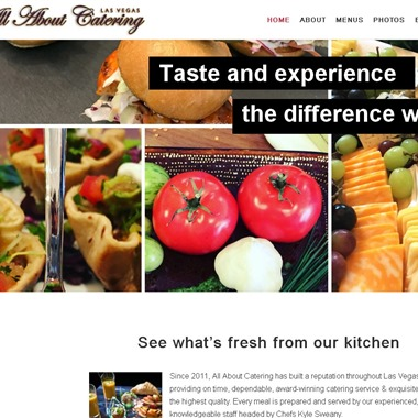 All About Catering wedding vendor preview