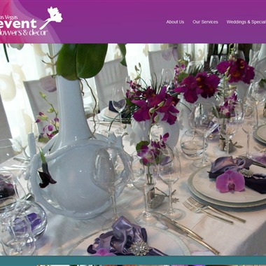 Las Vegas Event Flowers and Decor wedding vendor preview