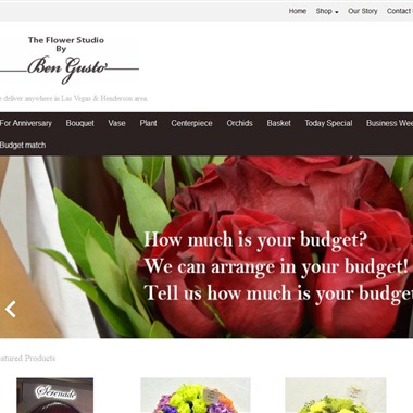 The Flower Studio by Ben Gusto wedding vendor preview