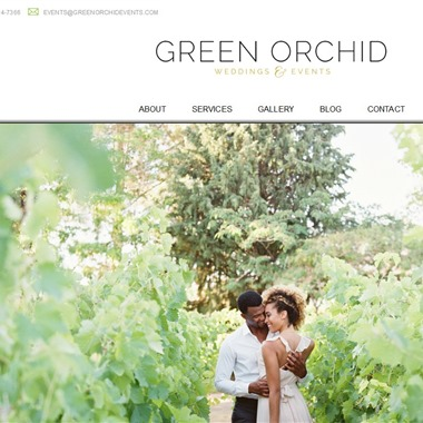 Green Orchid wedding vendor preview