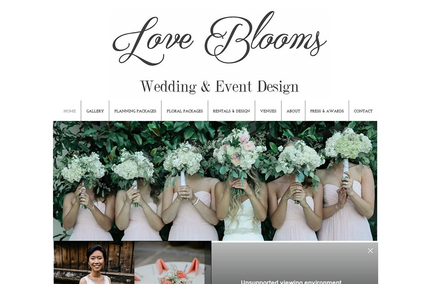 Love Blooms wedding vendor photo