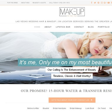 Makeup in The 702 wedding vendor preview