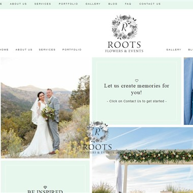Roots Flowers and Events wedding vendor preview