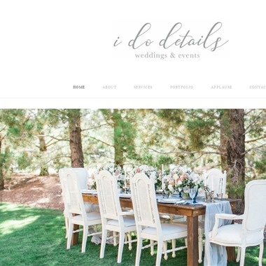 I Do Details wedding vendor preview