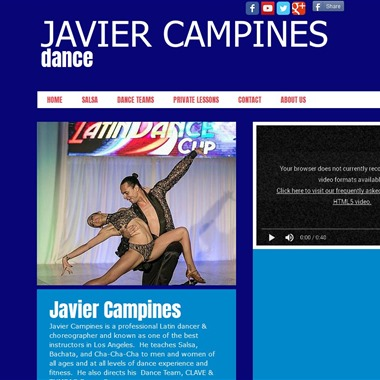 Javier Campines Dance wedding vendor preview