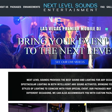 Next Level Sounds wedding vendor preview