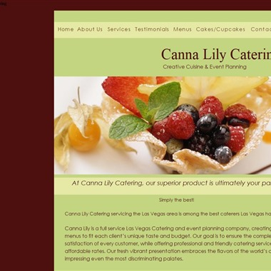 Canna Lily Catering wedding vendor preview