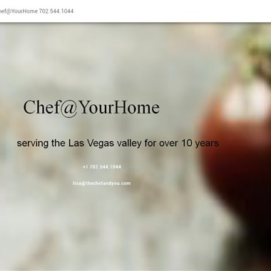Chef At Your Home wedding vendor preview