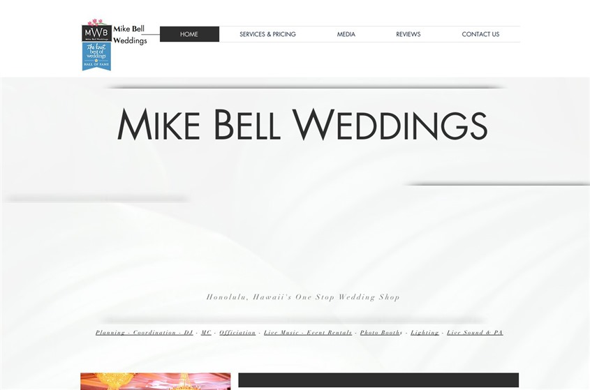 Mike Bell Weddings wedding vendor photo