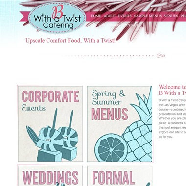 B With a Twist Catering And Events wedding vendor preview