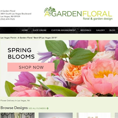 A Garden Floral wedding vendor preview