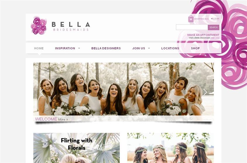 3e2f514667 Bella Bridesmaids - Henderson wedding dresses and accessories