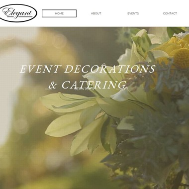 Elegant Decorations wedding vendor preview