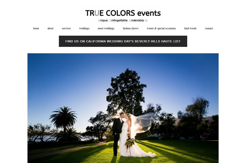 True Colors Events wedding vendor photo