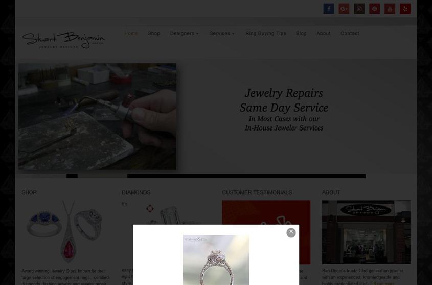 Stuart Benjamin Jewelry Designs wedding vendor photo