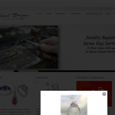 Stuart Benjamin Jewelry Designs wedding vendor preview