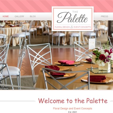 The Palette wedding vendor preview