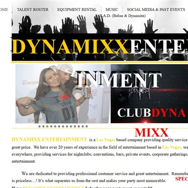 Dynamixx Entertainment wedding vendor preview