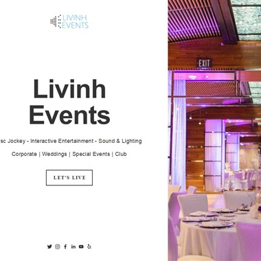 Livinh Events wedding vendor preview