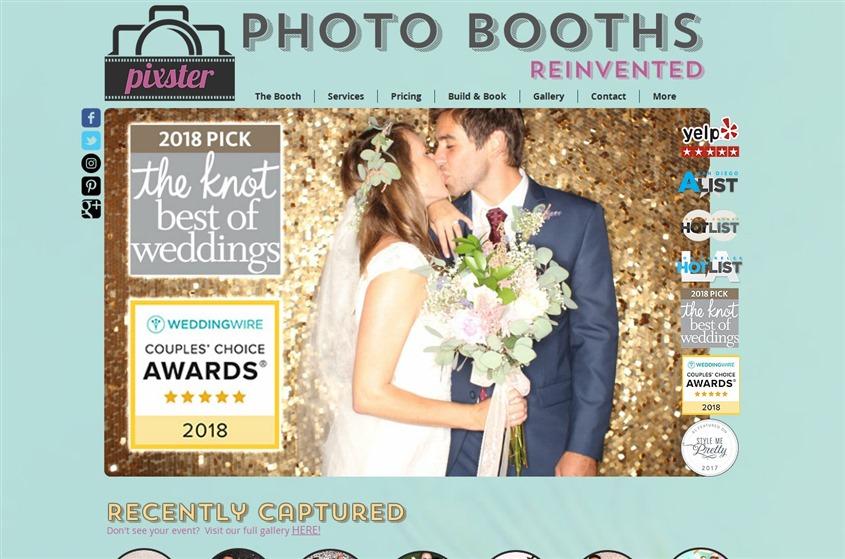 Pixster Photo Booths wedding vendor photo