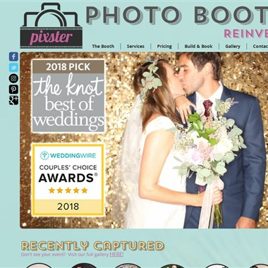 Pixster Photo Booths wedding vendor preview