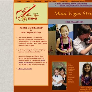 Maui Vegas Strings wedding vendor preview