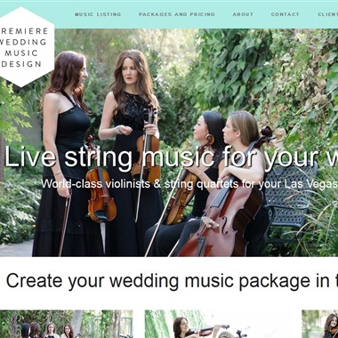 Premiere Wedding Music Design wedding vendor preview