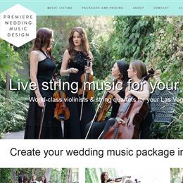 Photo of Premiere Wedding Music Design, a wedding musician in Las Vegas