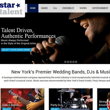 Star Talent Inc. wedding vendor preview