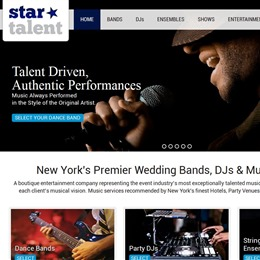 Photo of Star Talent Inc., a wedding musician in New York