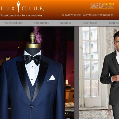 Tux Club wedding vendor preview
