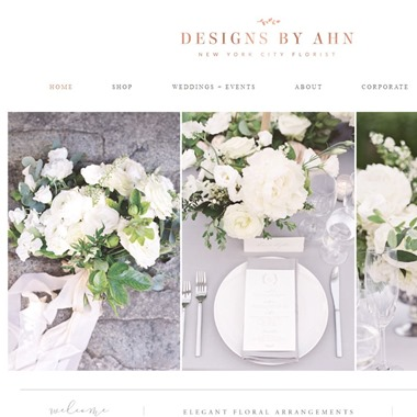 Designs By Ahn wedding vendor preview