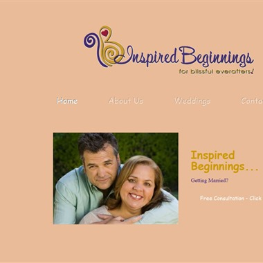 Inspired Beginnings wedding vendor preview